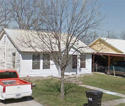 Comanche County Single Family Home For Sale: 105 S Williams Drive