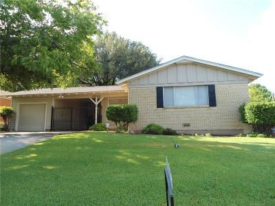Fort Worth TX Single Family Home For Sale: $199,500