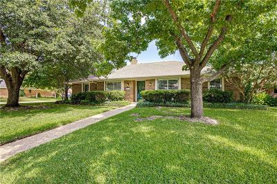 Richardson Single Family Home Active Option Contract: 2401 Blackberry Drive