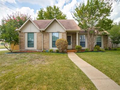 Allen Single Family Home For Sale: 536 English Oak Drive