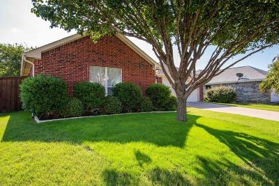 Waxahachie Single Family Home Active Option Contract: 336 Leisure Lane