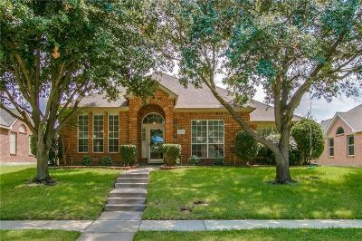 Lewisville Single Family Home Active Option Contract: 1344 Colby Drive