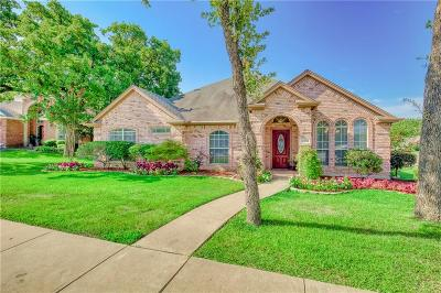 Arlington Single Family Home Active Option Contract: 3504 Kasmier Court