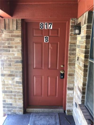 Hurst Residential Lease For Lease: 817 Betty Court #B