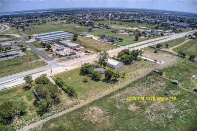 Dallas County, Collin County, Rockwall County, Ellis County, Tarrant County, Denton County, Grayson County Commercial For Sale: 2505 Fm 1378