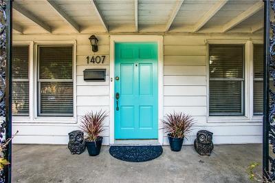 Dallas Single Family Home For Sale: 1407 Melbourne Avenue