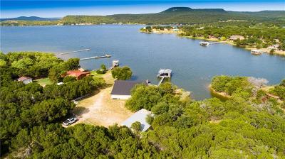 Possum Kingdom Lake Single Family Home For Sale: 5525 Navaho Lane