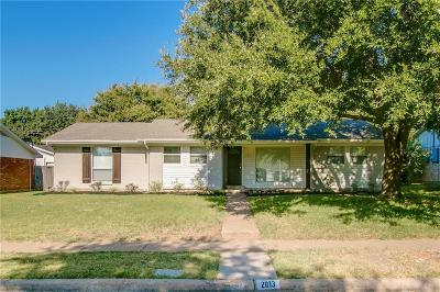 Richardson Single Family Home For Sale: 2013 Sandy Trail