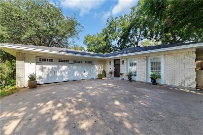 Fort Worth Single Family Home Active Option Contract: 2224 Glenco Terrace