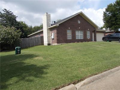 Kaufman Single Family Home Active Option Contract: 1744 Nottingham Drive