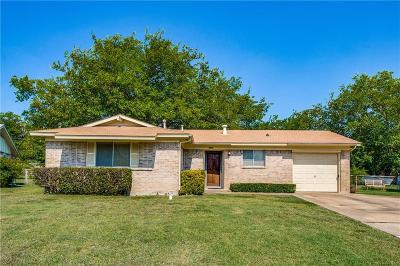 Plano Single Family Home Active Option Contract: 1429 Francis Lane