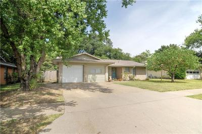 Ennis Single Family Home Active Option Contract: 1506 Nichols Street