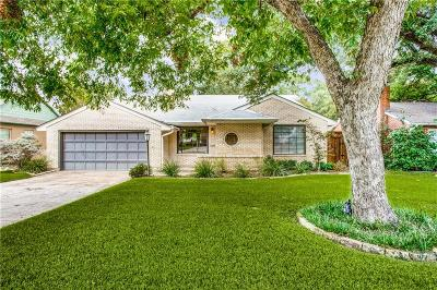 Dallas Single Family Home For Sale: 6809 Kenwood Avenue