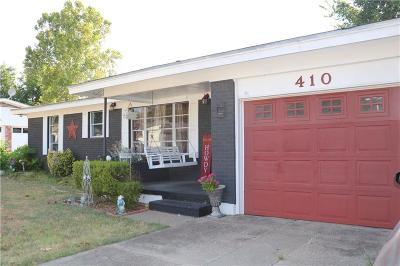 Weatherford Single Family Home For Sale: 410 Live Oak Lane