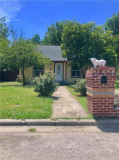 River Oaks Single Family Home For Sale: 1409 Byrd Drive