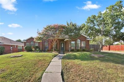 Mesquite Single Family Home For Sale: 2001 Briargate Lane