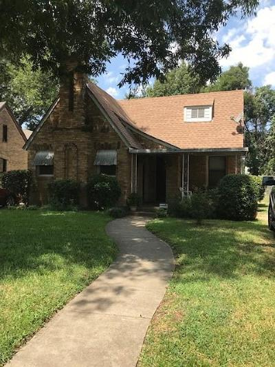 Dallas Single Family Home For Sale: 2423 Romine Avenue
