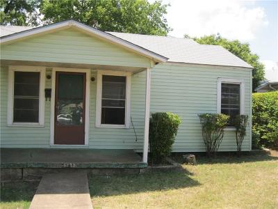 Fort Worth Single Family Home For Sale: 5733 Libbey Avenue
