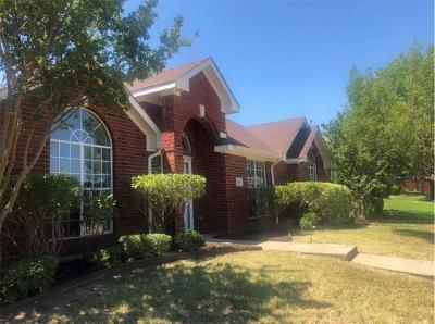 Mesquite Single Family Home For Sale: 1916 Chapman Drive