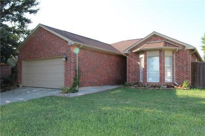 Arlington Single Family Home Active Option Contract: 3430 Mayhill Court