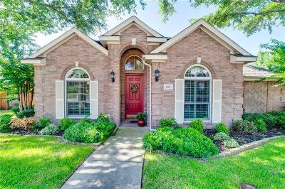 Rockwall Single Family Home Active Option Contract: 931 Briar Oak Drive