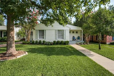 Single Family Home Active Contingent: 6255 Kenwood Avenue