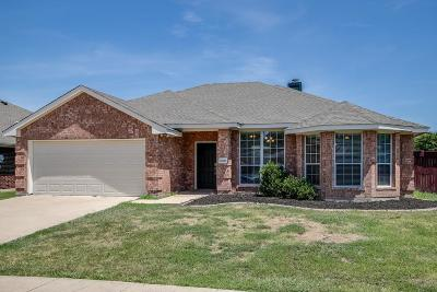 Wylie Single Family Home For Sale: 1600 Autumn Glen Court