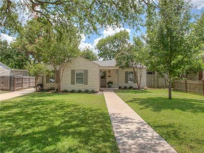 Fort Worth Single Family Home For Sale: 6137 Malvey Avenue