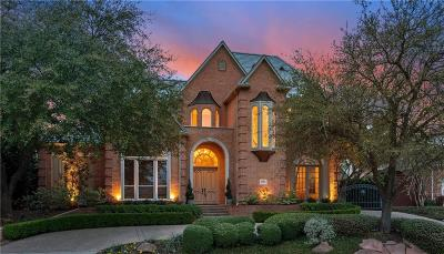 Allen, Dallas, Frisco, Plano, Prosper, Addison, Coppell, Highland Park, University Park, Southlake, Colleyville, Grapevine Single Family Home For Sale: 1809 Cliffview Drive
