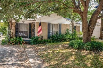 Dallas Single Family Home For Sale: 7210 Robin Road