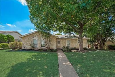 Richardson Single Family Home Active Option Contract: 1105 Brush Creek Drive