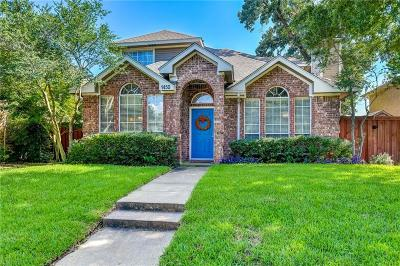 Lewisville Single Family Home Active Option Contract: 1450 Creekbank Drive