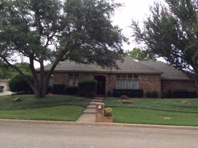 Abilene Single Family Home Active Option Contract: 23 Cypress Point Street