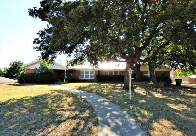 Eastland County Single Family Home For Sale: 511 S Dixie Street