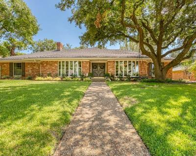 Dallas County Single Family Home For Sale: 7418 Cliffbrook Drive