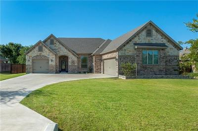 Hudson Oaks Single Family Home Active Option Contract: 804 Blue Quail Drive