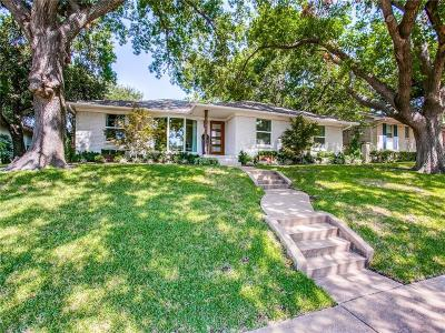 Dallas County Single Family Home For Sale: 6717 Dalhart Lane