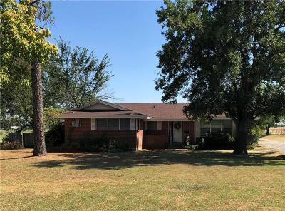 Archer County, Baylor County, Clay County, Jack County, Throckmorton County, Wichita County, Wise County Single Family Home For Sale: 343 School House Road