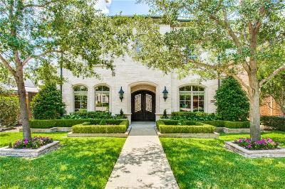 Dallas County Single Family Home Active Option Contract: 3245 Amherst Avenue