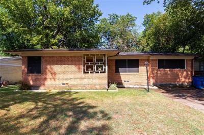 Dallas Single Family Home For Sale: 11121 Visalia Drive