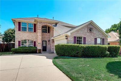 Lake Dallas Single Family Home Active Option Contract: 334 Stately Oak Lane