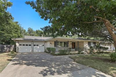 North Richland Hills Single Family Home For Sale: 4124 Mackey Drive