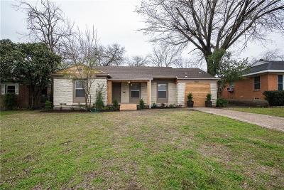 Dallas Single Family Home For Sale: 1562 N Atoll Drive