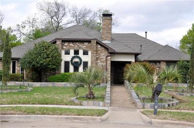 Plano Single Family Home Active Option Contract: 3901 Promontory Point