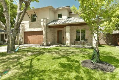 Dallas TX Single Family Home For Sale: $1,130,000