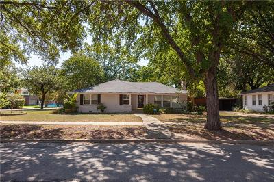 Single Family Home For Sale: 9837 Mixon Drive