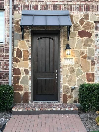 Plano Townhouse For Sale: 7921 Parkwood Boulevard
