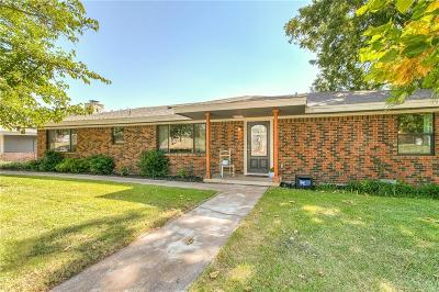 Weatherford Single Family Home For Sale: 718 N Boundary Street