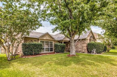 Lewisville Single Family Home Active Option Contract: 1321 Autumn Trail