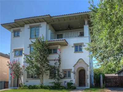 Fort Worth Townhouse For Sale: 3757 W 5th Street